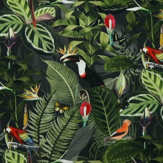 Dekostoff - Canvas - In the Tropics - Digitaldruck