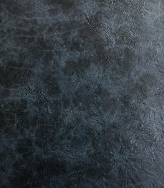 Kunstleder ROCKS - anthrazitblau- ca. 140 cm breit