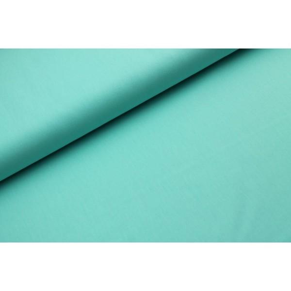 Baumwolle-Webware unifarben - new mint
