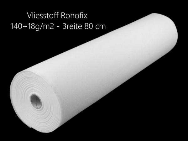Vliesstoff Ronofix 140+18g/m2 -80 cm breit - aufbügelbar