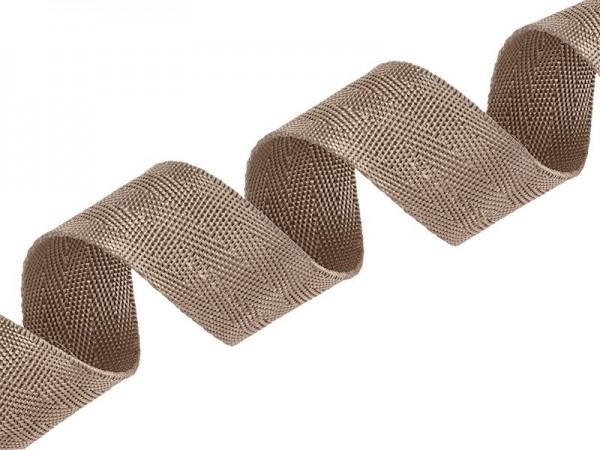 Gurtband - PP - 30 mm - beige - V-Muster