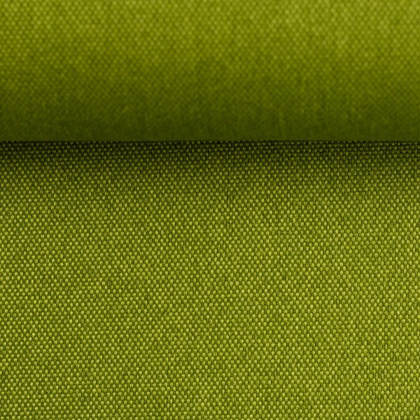 "Dekostoff ""ROM"" - meliert - Farbe: kiwi"