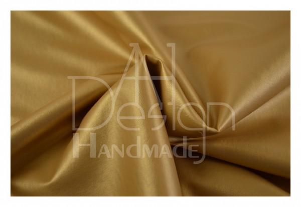 Kunstleder SOFT - weiche Qualität - Farbe: gold-metallic G01