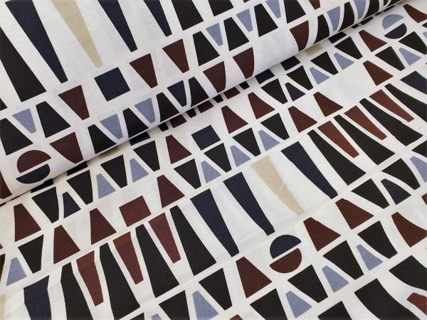 Canvas - Stoff bedruckt - Dekostoff - Geometric - 150 cm breit - 220g/m²