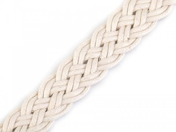 Gurtband geflochten Breite 20 mm - natur