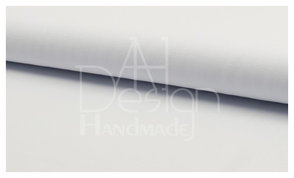 Canvas - Stoff unifarben 100% Baumwolle - Farbe: weiss