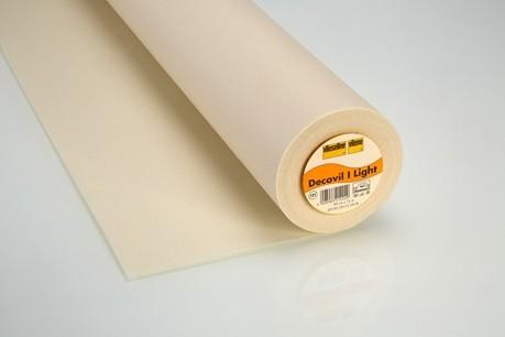 Decovil I light - fixierbare Einlage für Taschen, Hüte etc. - natur - 90cm breit