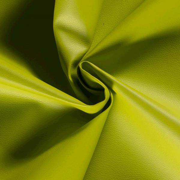 Kunstleder BASIC - leicht strukturierte Oberfläche - limette