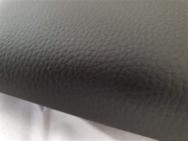 Kunstleder BASIC - leicht strukturierte Oberfläche - 0,5m - schwarz
