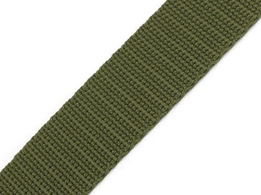 Gurtband - PP - 25 mm - khaki