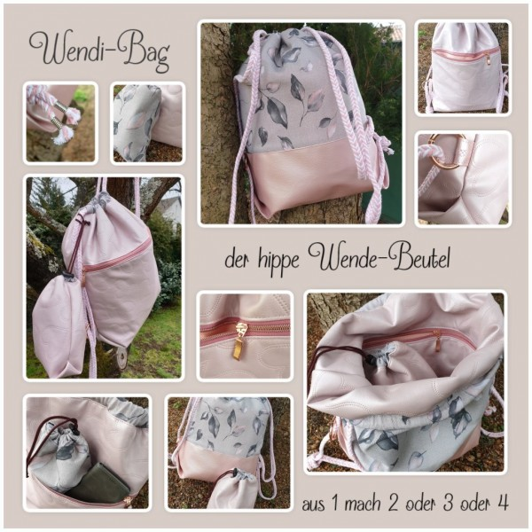 E-Book WENDI-BAG - der hippe Wendebeutel