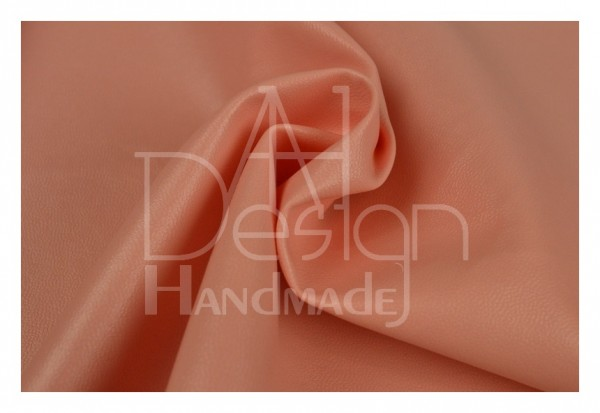 Kunstleder SOFT - weiche Qualität - Farbe: lachsrosa 40