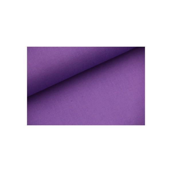 Baumwolle-Webware unifarben - purple