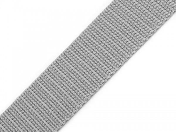 Gurtband - PP - 30 mm - hellgrau
