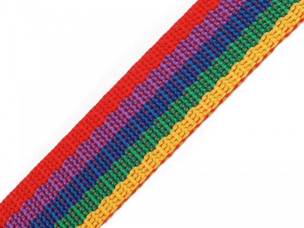 Gurtband - PP - 30 mm - Multicolor