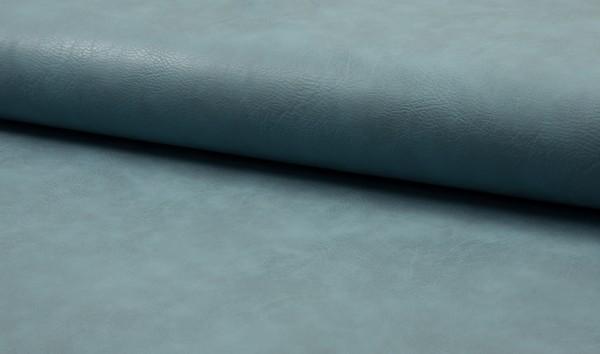 Kunstleder Vintage - dusty blue