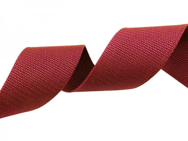 Gurtband - PP - 30 mm - burgundy