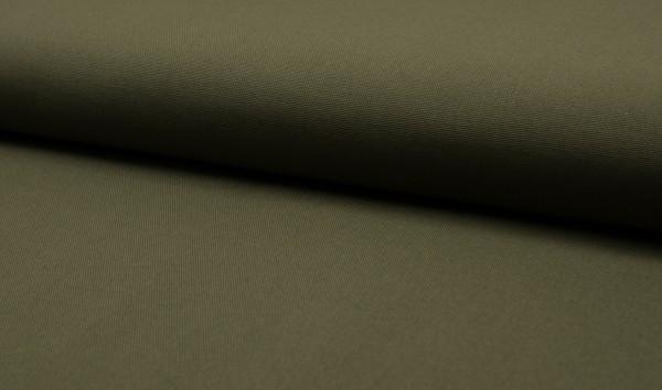Canvas - Stoff unifarben 100% Baumwolle - Farbe: army