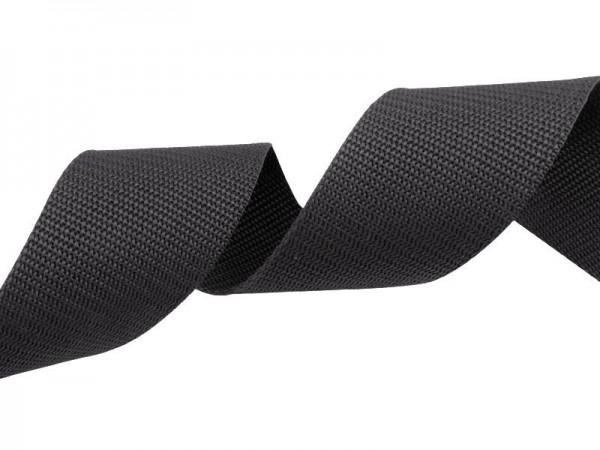 Gurtband - PP - 30 mm - graphitgau