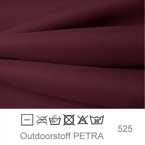 "Outdoorstoff ""Petra"" - bordeaux (525)"