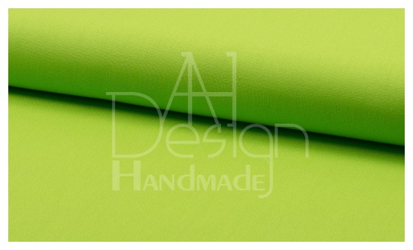 Canvas - Stoff unifarben 100% Baumwolle - Farbe: lime