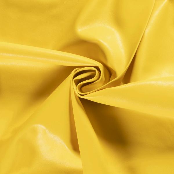 Kunstleder Mila - Farbe Gelb