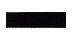 Baumwoll-Gurtband 40mm - unifarben - schwarz