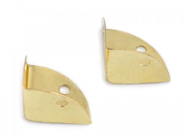 Taschenecken - Kantenschützer - goldfarben - 22x22x22 mm (4 Stück)
