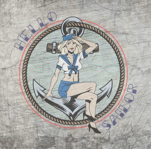 """""""Hello Sailor"""" - Plotterdatei"""