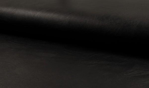 Kunstleder Space - schwarz