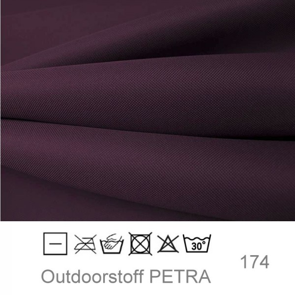 "Outdoorstoff ""Petra"" - aubergine (174)"