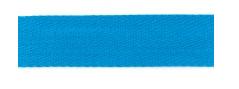Baumwoll-Gurtband 40mm - unifarben - aquablau