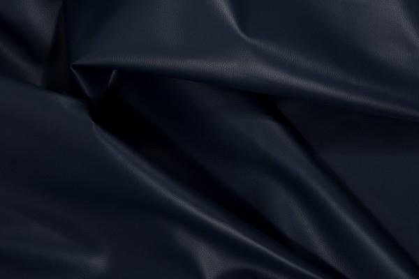 Kunstleder REX - dunkelblau