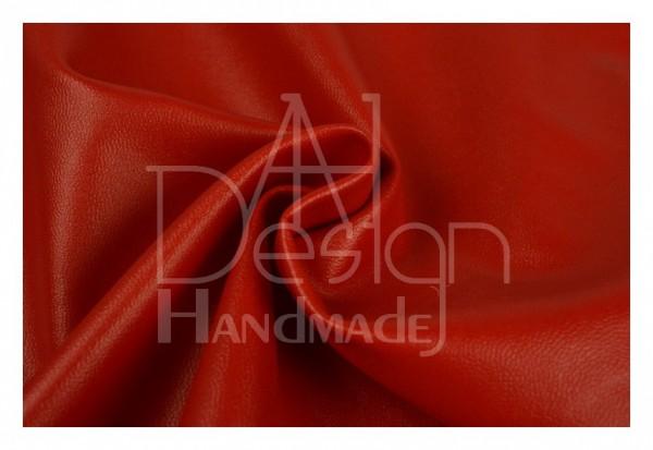 Kunstleder SOFT - weiche Qualität - Farbe: rot 01
