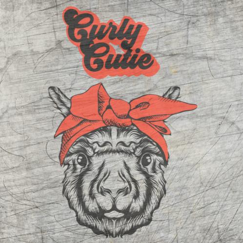 """Curly Cutie""- Plotterdatei"