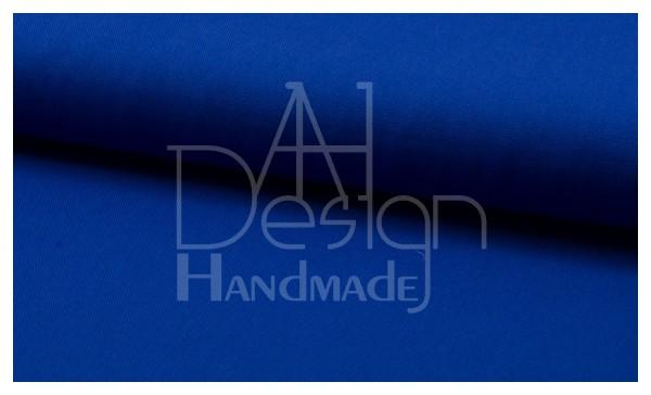 Canvas - Stoff unifarben 100% Baumwolle - Farbe: royalblau