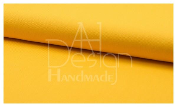 Canvas - Stoff unifarben 100% Baumwolle - Farbe: gelb