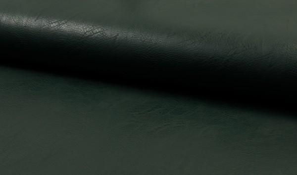 Kunstleder Vintage - dunkelgrün