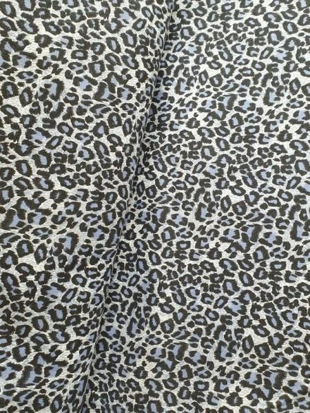 """Canvas - """"Leopard"""" - blau/grau"""