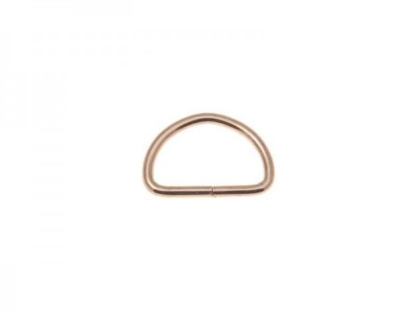 D-Ring - hellgold - 25 mm (5 Stück)