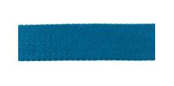 Baumwoll-Gurtband 40mm - unifarben - jeansblau