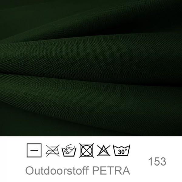 "Outdoorstoff ""Petra"" - dunkelgrün (153)"